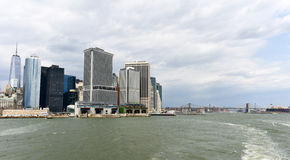 View of Lower Manhattan Royalty Free Stock Images