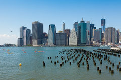 View of lower Manhattan in New York Stock Photo