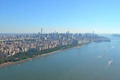View of Lower Manhattan, New York City Royalty Free Stock Image