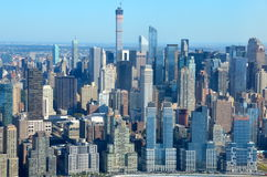 View of Lower Manhattan, New York City Stock Images