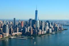 View of Lower Manhattan, New York City Stock Photo