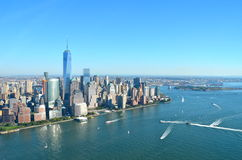 View of Lower Manhattan, New York City Stock Photography