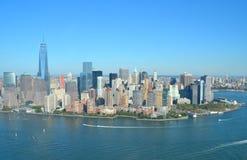 View of Lower Manhattan, New York City Royalty Free Stock Photos
