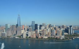 View of Lower Manhattan, New York City Stock Photos
