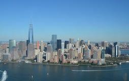 View of Lower Manhattan, New York City Stock Photos