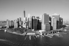 View of Lower Manhattan, New York City Royalty Free Stock Photos