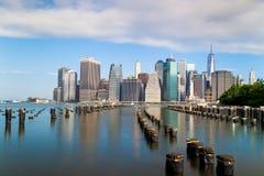 View of lower Manhattan in New York Stock Photos