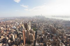 View of Lower Manhattan Royalty Free Stock Photo