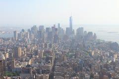 View of Lower Manhattan Stock Image