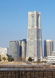 View of lower Minato-Mirai City in Yokohama, Japan. Stock Photo
