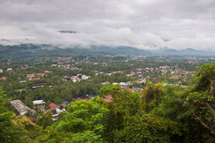 View of Luang Prabang Royalty Free Stock Photos