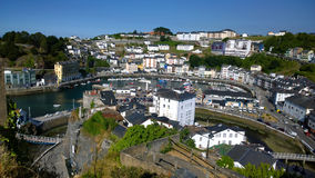 View of Luarca in Asturias, Spain Royalty Free Stock Photo