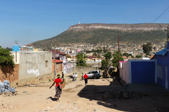 View of Lubango, Angola Royalty Free Stock Image