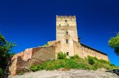 View of Lubart Castle in Lutsk - Ukraine. View of Lubart Castle or Lutsk High Castle - Ukraine Stock Photos