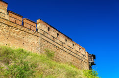 View of Lubart Castle in Lutsk - Ukraine Stock Photo
