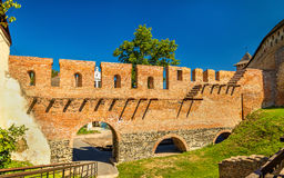 View of Lubart Castle in Lutsk - Ukraine. View of Lubart Castle or Lutsk High Castle - Ukraine Royalty Free Stock Images
