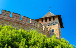 View of Lubart Castle in Lutsk - Ukraine Royalty Free Stock Images