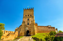 View of Lubart Castle in Lutsk - Ukraine. View of Lubart Castle or Lutsk High Castle - Ukraine Stock Images