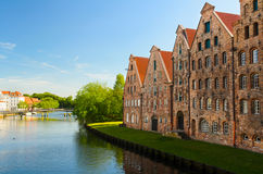 View of Lubeck, Germany. Street view of Lubeck, Germany Stock Image