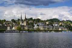 View of Lucerne Stock Photo