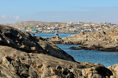 View of Luderitz in Namibia 2 Royalty Free Stock Photography
