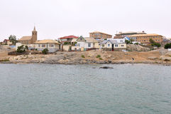 View of Luderitz in Namibia Royalty Free Stock Images