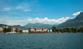 View of Lugano Stock Photos