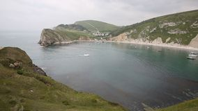 View of Lulworth Cove Dorset England UK Royalty Free Stock Image