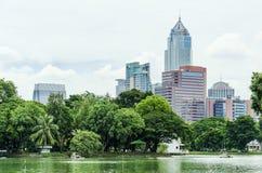 View of Lumpini Park Stock Photo