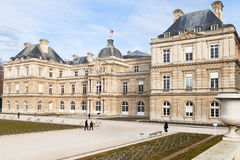 Luxembourg Palace in Paris Royalty Free Stock Images