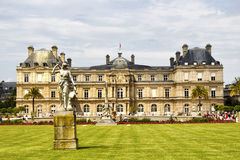 View of Luxembourg Palace Stock Photography