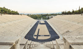 Stadium. The only stadium in the world built entirely of white marble Royalty Free Stock Image