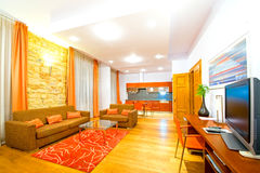 View of a luxury apartament Stock Photography