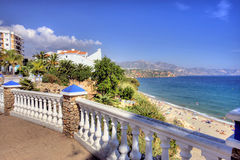 View from a luxury villa in Spain Royalty Free Stock Image