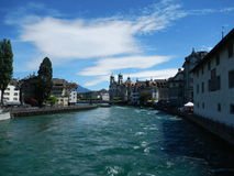 View of Luzern, Switzerland Royalty Free Stock Photo