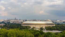 View of Luzhniki sport complex in Moscow Stock Photography