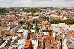 View of Lviv, Ukraine Stock Photo