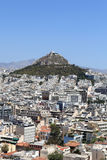 View of Lycabettus hill Stock Photography