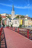 View of Lyon city Stock Photos