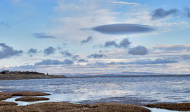 View from Lytham St Anne's beach Stock Photography