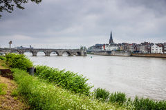 View of Maastricht Royalty Free Stock Image