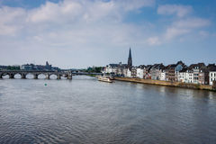 View of Maastricht Royalty Free Stock Images