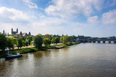 View of Maastricht Stock Image