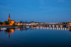 View on Maastricht, The Netherlands Stock Images