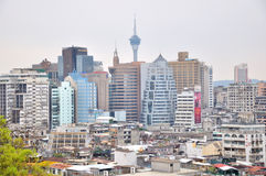 View of Macao city Stock Photography