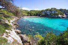 Macarella beach, Menorca, Spain Stock Images