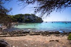 Macarella beach, Menorca, Spain Royalty Free Stock Image