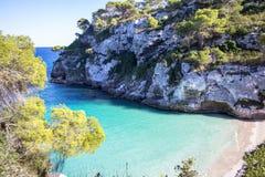 Macarelleta beach, Menorca, Spain Stock Photography