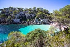 Macarelleta beach, Menorca, Spain Stock Photo