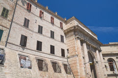View of Macerata. Marche. Royalty Free Stock Photography